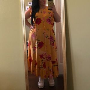 Beautiful floral old navy dress
